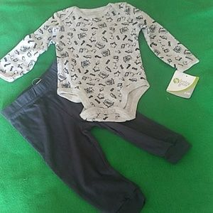 Baby Gear Size 6-9 Months Shirt and pant
